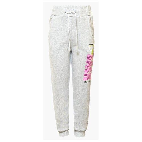 Спортивные брюки M&D размер 116, серый