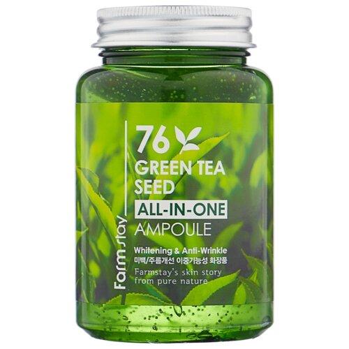 Купить Farmstay All-In-One Green Tea Seed Ampoule Сыворотка для лица с зеленым чаем, 250 мл