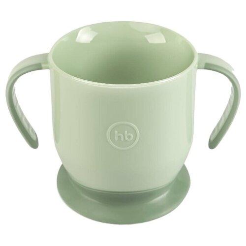 Купить Чашка Happy Baby на присоске (15022) olive, Посуда