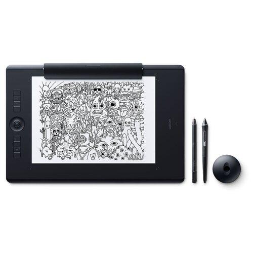 Графический планшет WACOM Intuos Pro Large Paper Edition (PTH-860P) + Corel Painter 2020 черный российская графический планшет wacom intuos pro 2 medium paper edition