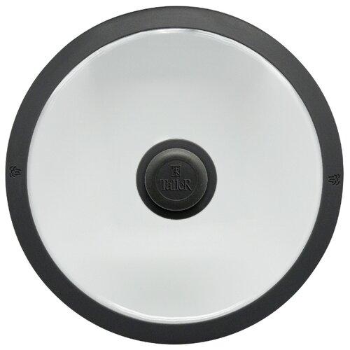Крышка Taller TR-8005 (28 см) бесцветный,черный