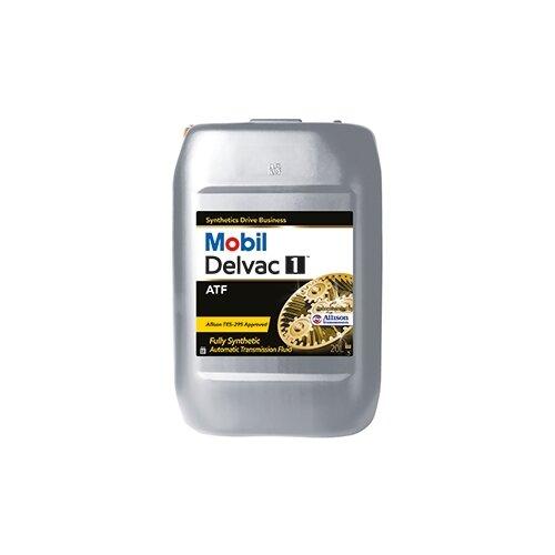 Коробка передач масло MOBIL Delvac 1 ATF 20 л трансмиссионное масло mobil atf 320 1 л