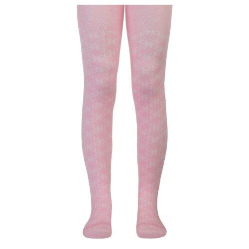 Колготки Conte-kids CLASS Lycra, размер 104-110, светло-розовый колготки conte kids class lycra размер 104 110 191 белый