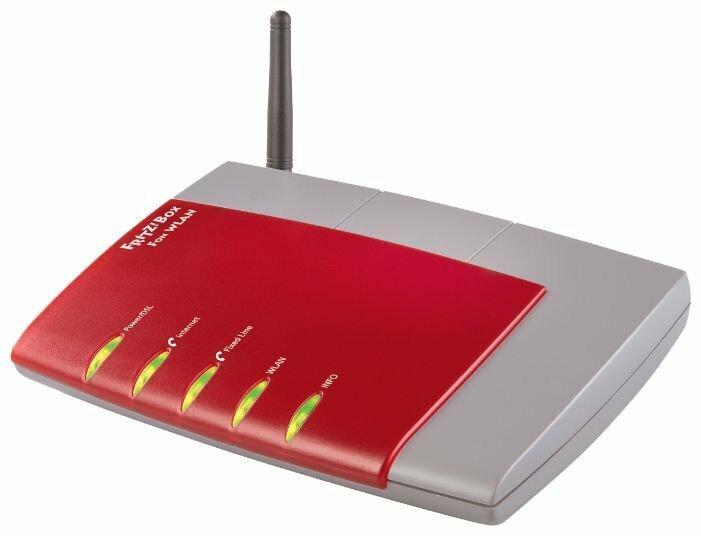 Wi-Fi роутер AVM FRITZ!Box Fon WLAN 7140