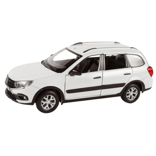 Купить Легковой автомобиль Автопанорама Lada Granta Cross 1:24 белый, Машинки и техника