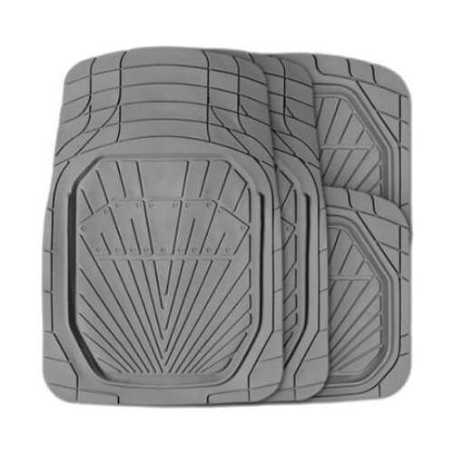 Комплект ковриков AUTOPROFI TER-510 4 шт. серый коврики автомобильные autoprofi ter 150m bk
