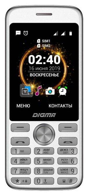 Мобильный телефон Digma C280 Linx, черный