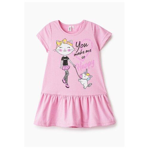 Платье Elaria размер 122, розовый