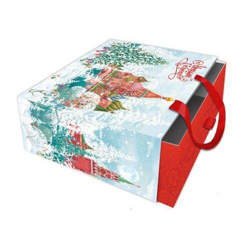 Коробка подарочная Красная площадь, 18х18х9,5 см