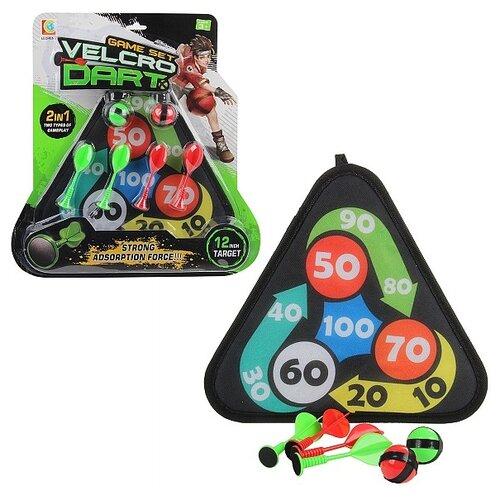 Купить Дартс Lecheng 93764 черный/зеленый/красный, Спортивные игры и игрушки