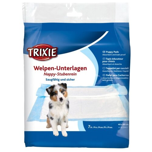 Пеленки для собак впитывающие TRIXIE 23411 40х60 см 7 шт.