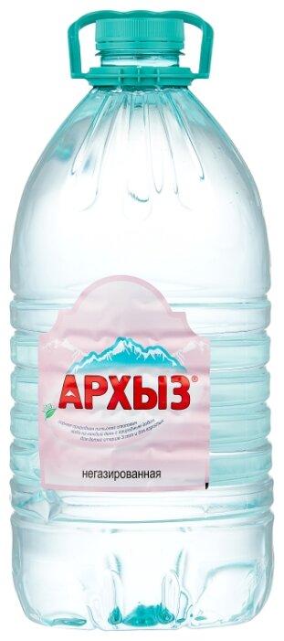 Висма Природная ледниковая вода Архыз негазированная, ПЭТ