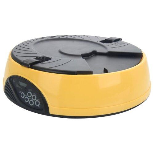Автокормушка Petwant PF-18 1.44 л желтый