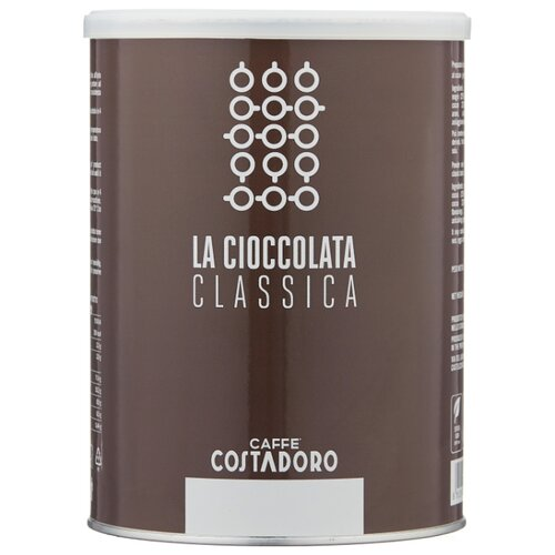 горячий шоколад caffe diemme classic chocolate 1 кг Costadoro La Cioccolata Classica Горячий шоколад растворимый, 1 кг
