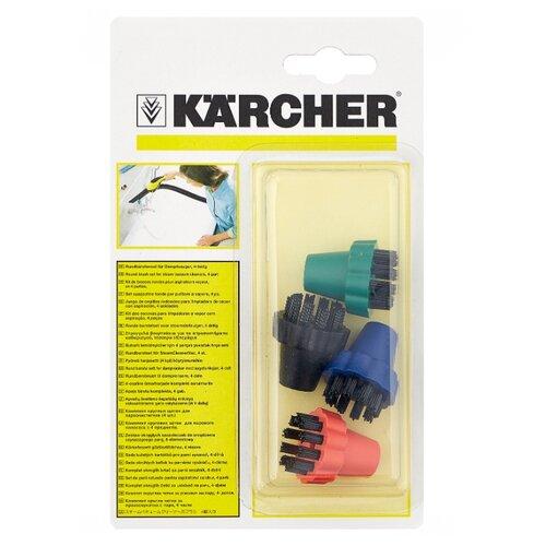 KARCHER Комплект круглых щеток 2.860-231 разноцветный 4 шт. комплект щеток muc off brush set 5 шт