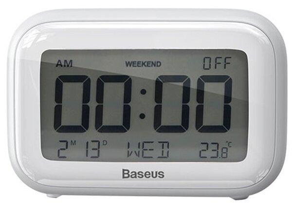 Часы с термометром Baseus Subai Clock фото 1