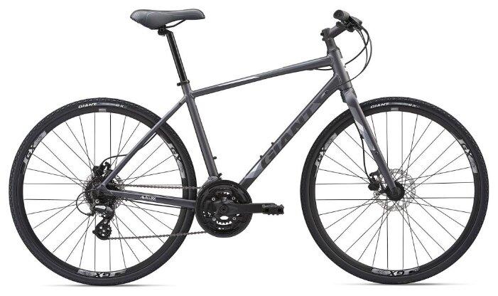 Городской велосипед Giant Escape 2 Disc (2019) угольный M