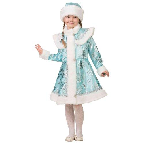 Купить Костюм Батик Снегурочка (8081), голубой, размер 128, Карнавальные костюмы