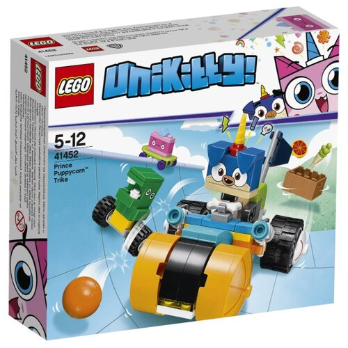 цена на Конструктор LEGO Unikitty 41452 Велосипед принца Паппикорна