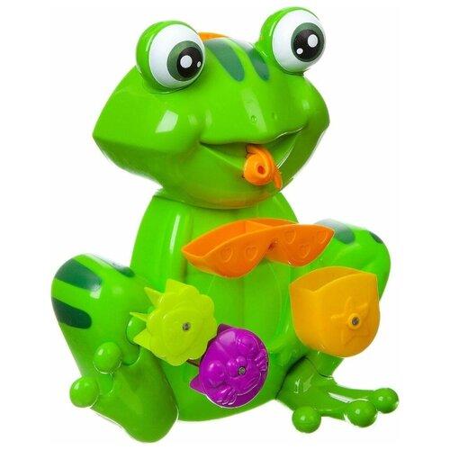 Игрушка для ванной BONDIBON Мельница Лягушка (ВВ1911) зеленый