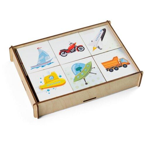 Настольная игра Сибирские игрушки Мемори Транспорт