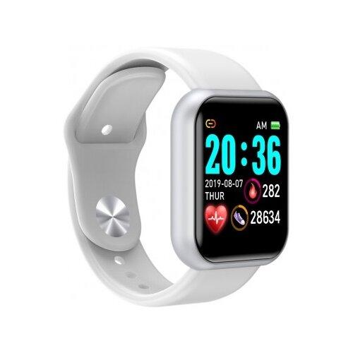 Умные часы BandRate Smart BRSD2020 белый/серебристый