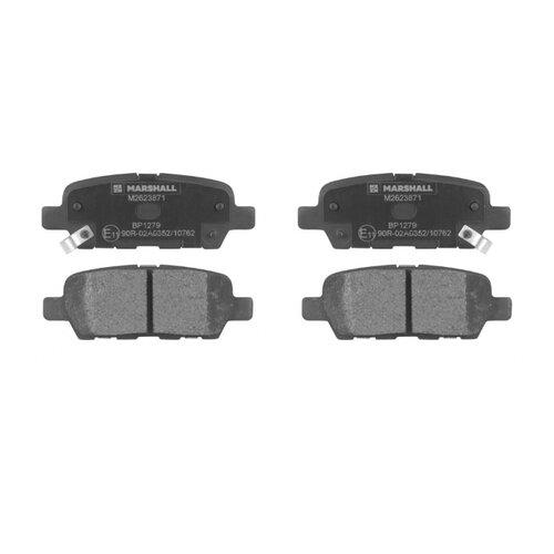 Дисковые тормозные колодки задние Marshall M2623871 для Nissan Qashqai, Suzuki Grand Vitara (4 шт.)
