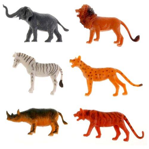 Купить Фигурки Играем вместе Рассказы о животных Дикие животные HB335-6, Игровые наборы и фигурки