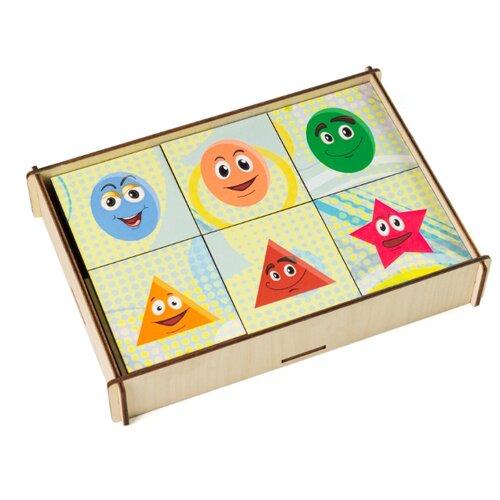 Настольная игра Сибирские игрушки Мемори Геометрия