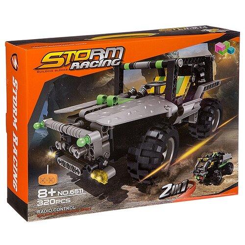 Электромеханический конструктор Qi Zhi Le Storm Racing 6511 Джип