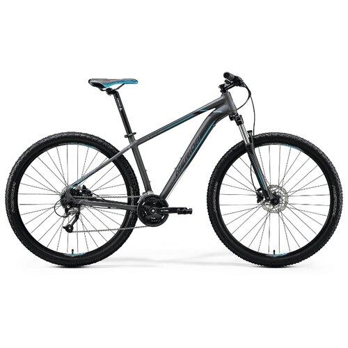 цена на Горный (MTB) велосипед Merida Big.Nine 40 (2020) matt dark silver/blue/blk L (требует финальной сборки)