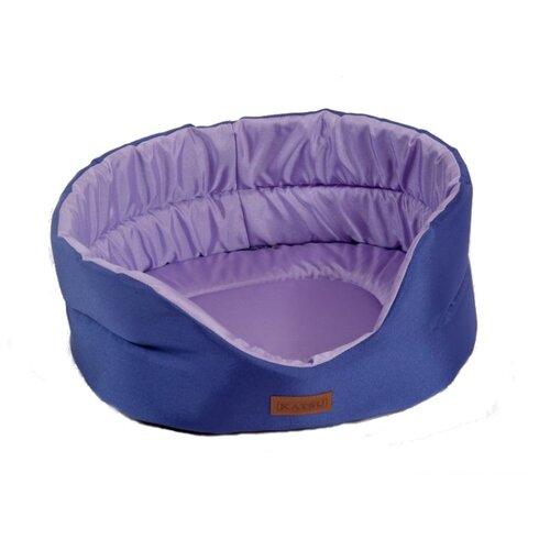 Лежак для собак и кошек Katsu Classic Shine XS 40х35х16 см фиолетовый/лаванда