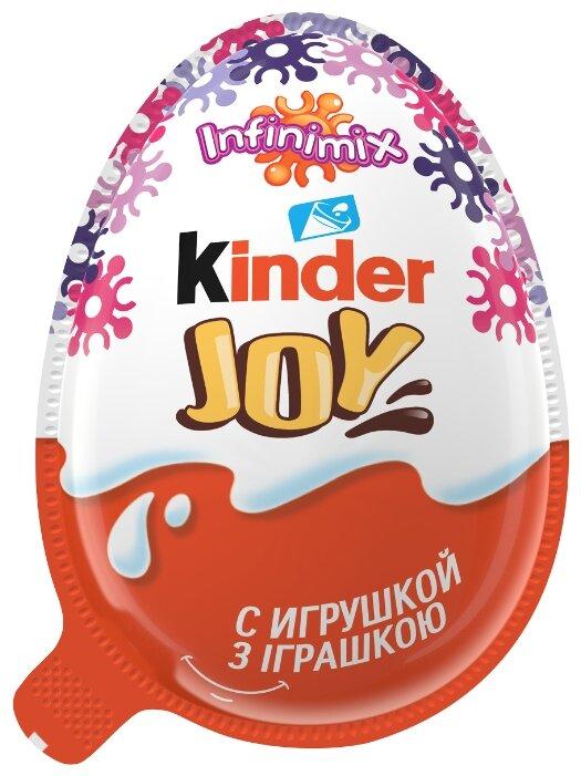 Шоколадное яйцо Kinder Joy Infinimix с игрушкой, серия для девочек, 20 г