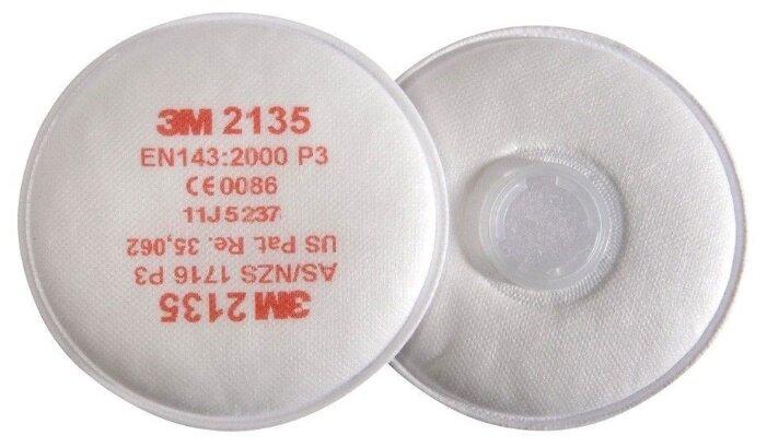 Противоаэрозольный фильтр 3M 2135, P3, 2 шт.