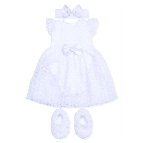 Купить Комплект одежды LEO размер 74, белый, Комплекты