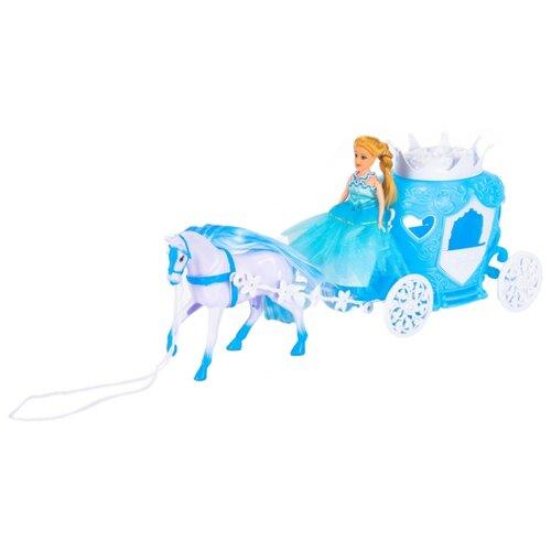 Купить Игровой набор Dolly Toy Королевский экипаж 14.5 см DOL0803-100, Куклы и пупсы