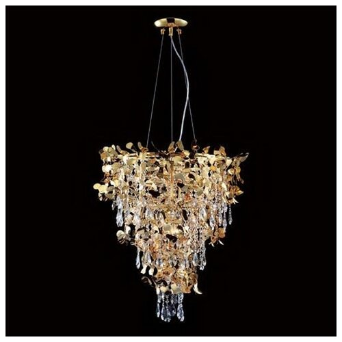 Люстра Crystal Lux ROMEO SP10 GOLD D600, E14, 600 Вт люстра crystal lux barcelona sp10 barcelona