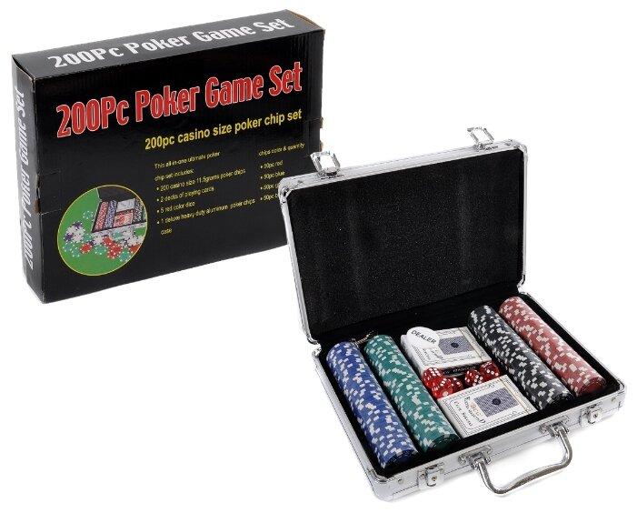 Набор для покера Игротрейд IT105788, 200 фишек