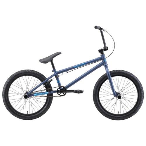 Велосипед BMX STARK Madness BMX 4 (2019) синий/голубой (требует финальной сборки)