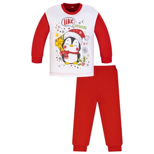 Пижама Утенок размер 110, красный по цене 700