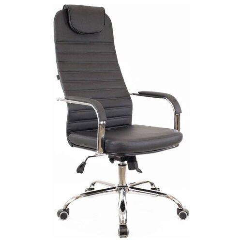Фото - Компьютерное кресло Everprof EP 708 TM офисное, обивка: искусственная кожа, цвет: черный компьютерное кресло everprof trend tm для руководителя обивка искусственная кожа цвет черный