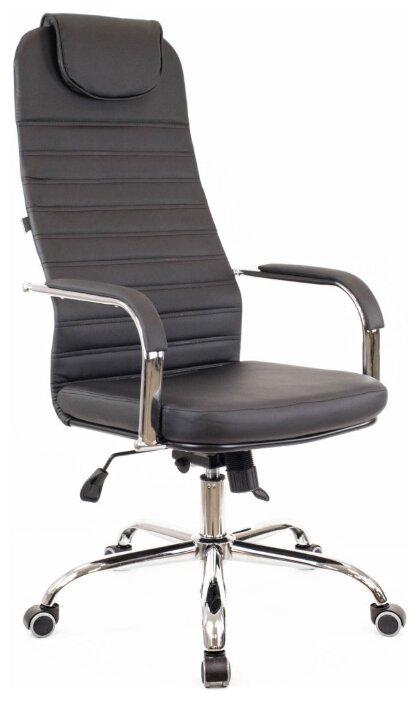 Купить Компьютерное кресло Everprof EP 708 TM офисное, обивка: искусственная кожа, цвет: черный по низкой цене с доставкой из Яндекс.Маркета (бывший Беру)