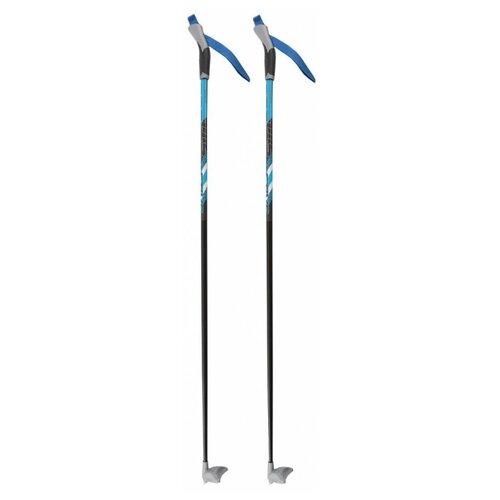 Лыжные палки STC X400 синий 120