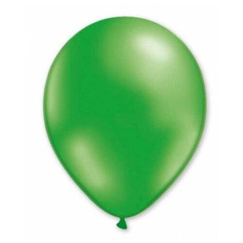 Набор воздушных шаров MILAND Металлик 21 см (100 шт.) зеленый