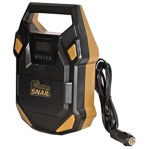 Автомобильный компрессор Golden Snail GS9228 черный/оранжевый