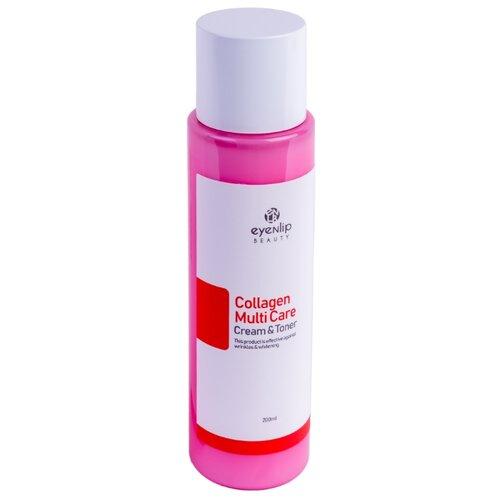 Eyenlip Collagen Multi Care Cream & Toner Тонер-крем с коллагеном для лица, 200 мл недорого