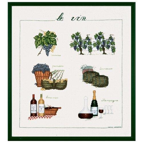 Купить Набор для вышивания: VIN (Вино) Le Bonheur des Dames, 40*46 1181, Наборы для вышивания