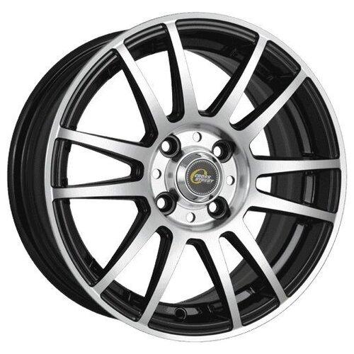 Фото - Колесный диск Cross Street Y4917 6.5x16/4x100 D60.1 ET36 BKF колесный диск cross street y3177 6x15 4x100 d60 1 et36 bkf