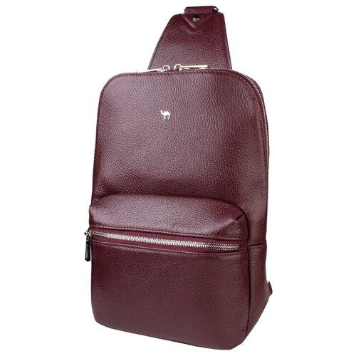 Рюкзак Dimanche 818, натуральная кожа, бордовый рюкзак dimanche dimanche di042bwbzyt0