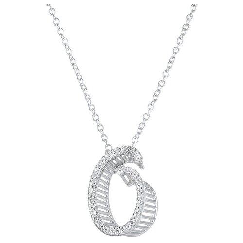 ELEMENT47 Колье из серебра 925 пробы с фианитами DM20302-ON_KL_001_WG, 45 см